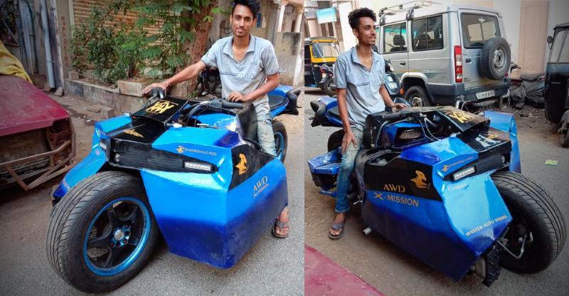 Hammerhead 800: 'All-Wheel Drive' Bike जिसमें है Maruti 800 का इंजन! [Video]