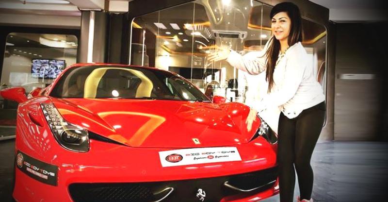 Shilpa Shetty से Hard Kaur तक इंडिया की महिला SUPERCAR मालकिनें