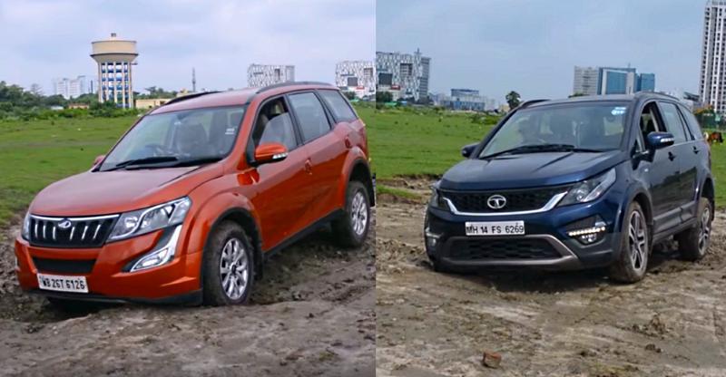 Tata Hexa vs Mahindra XUV500: Off-Road में कौन आगे?