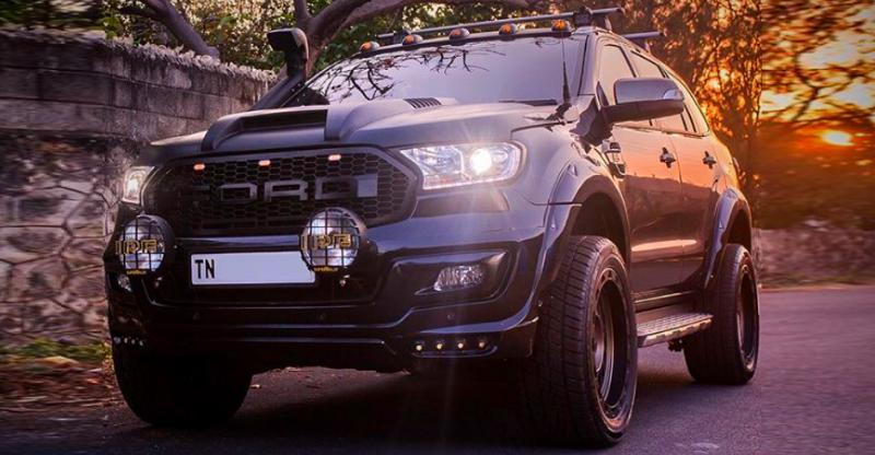 Modified Ford Endeavour SUVs: इंडिया से 5 उदाहरण!