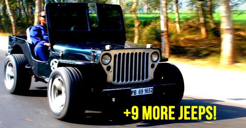 Mahindra Thar से Jeep Wrangler; India की 10 बेहतरीन Modified Jeeps