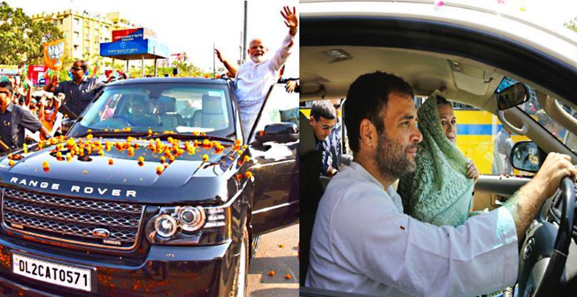 भारत के राजनेता और उनकी SUVs: प्रधानमंत्री मोदी की Range Rover से लेकर राहुल गाँधी की Land Cruiser