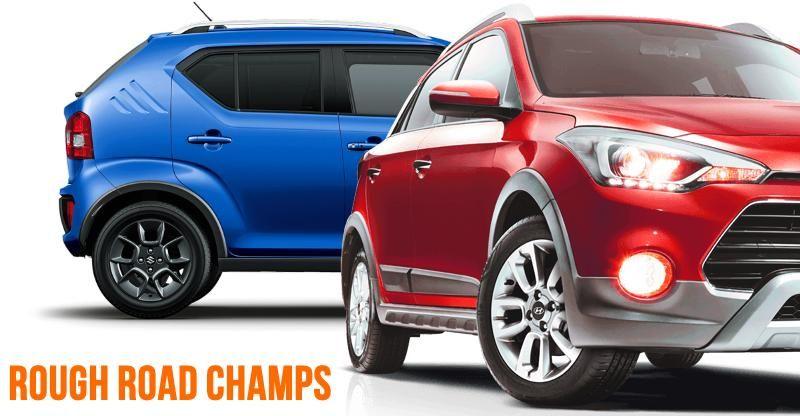 Maruti Ignis से Hyundai i20 Active तक: 10 बेहतरीन Ground Clearance वाली Hatchbacks और Sedans