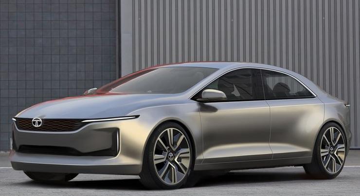 Tata eVision Sedan Concept के नए फोटोज़ और विडियो