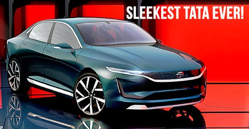 Geneva Motor Show में Tata ने अनावरण किया अपनी eVision Sedan का