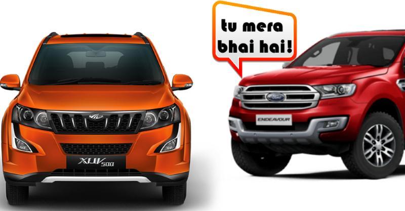 Mahindra XUV500 जल्द ही एक Ford बनेगी: जानिये डिटेल्स…