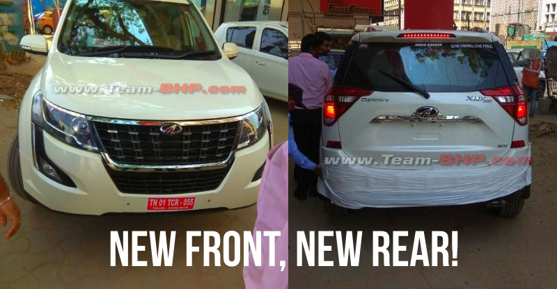 2018 Mahindra XUV500 हुई रिविल; देगी Hyundai Creta और Jeep Compass SUV को टक्कर