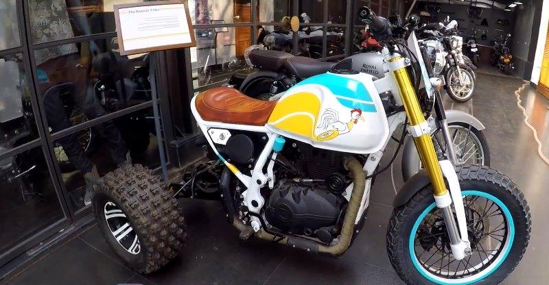 Royal Enfield Himalayan Trike मॉडिफिकेशन को देखिये, आपका दिन बन जायेगा!