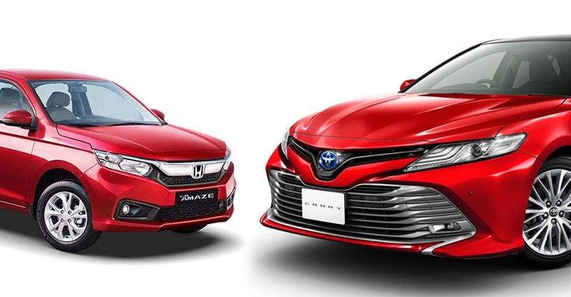 New Honda Amaze से Toyota Camry Facelift तक; India में 2018 में लॉन्च होने वाले 5 Sedans