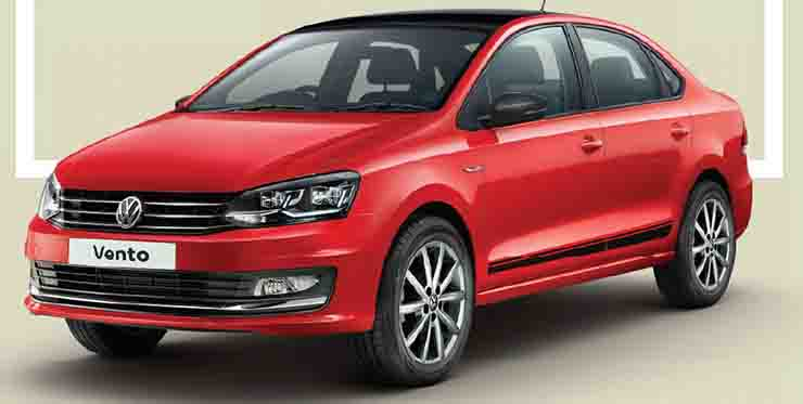 Volkswagen Vento Sport और Polo Pace हुईं Launch