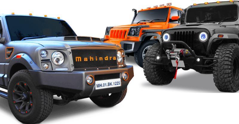 Scorpio Darkhorse से Bolero Stinger; 10 'कस्टम-बिल्ट' Mahindra SUVs जो आप खरीद सकते हैं..
