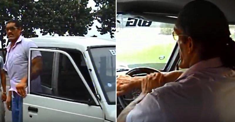 The Great Khali चला रहे हैं Tata Sumo, ये विडियो आपने कभी नहीं देखा होगा!
