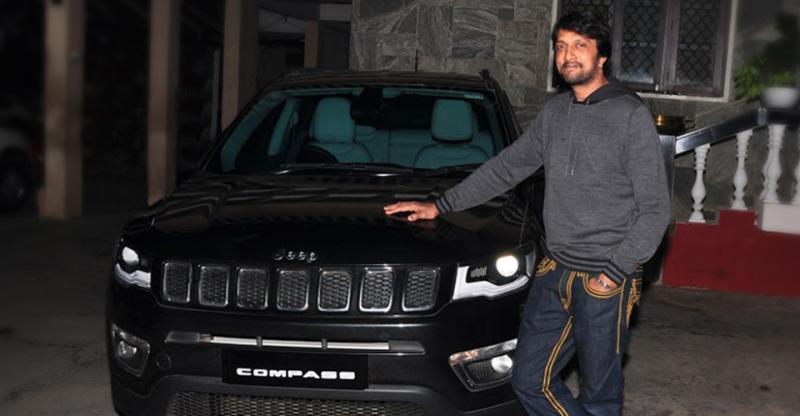 अब Baahubali के एक्टर 'Kiccha' Sudeep ने खरीदी Jeep Compass SUV