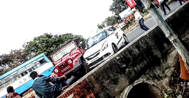 Mahindra Thar Driver ने Drug Peddlers को खदेड़ा: Video