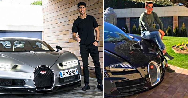 Bugatti Chiron, Lamborghinis, Ferraris: ये कार्स हैं Cristiano Ronaldo के पास!