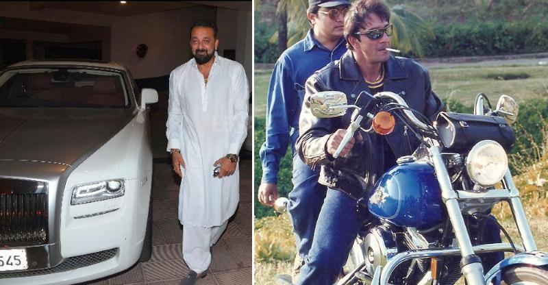 Ferrari से लेकर Harley तक; Sanjay 'Munna Bhai' Dutt की गेराज में सब है!