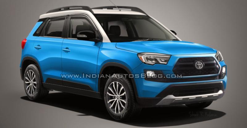 Toyota और Maruti ने की फ्रेंडशिप : आ रही है Toyota Vitara Brezza
