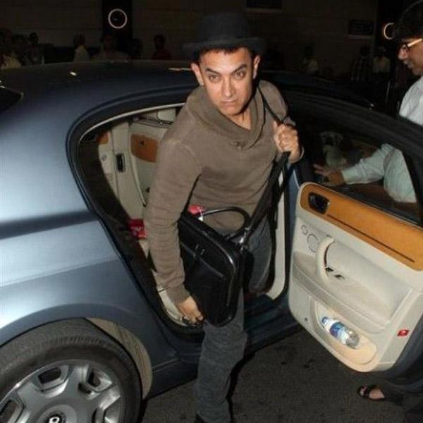 2018 Bentley Flying Spur Camshaft: Aamir Khan's Bentley To Akshay Kumar's Rolls Royce: Glitzy
