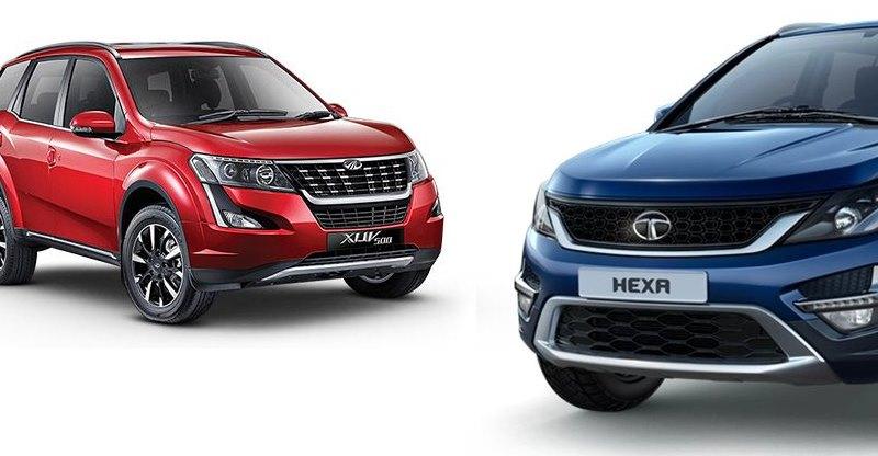 2018 Mahindra XUV500 या Tata Hexa: कौन सी SUV है आपके लिए बेहतर?