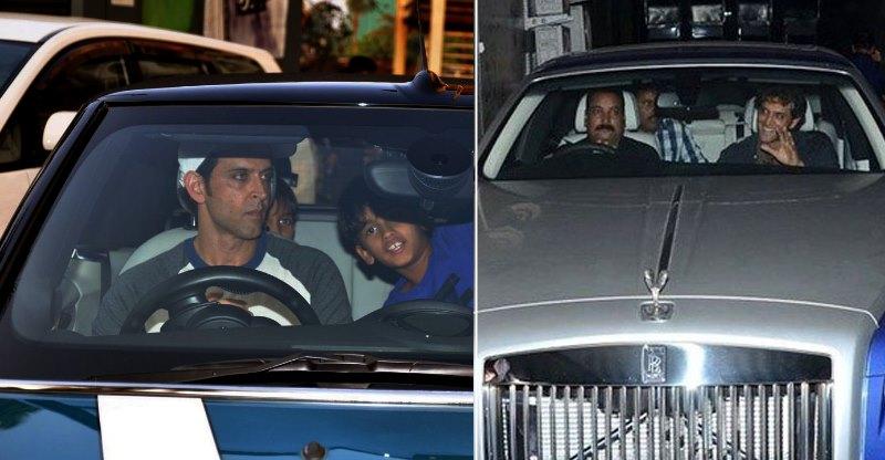 Rolls Royce और Maybach, एवं Hrithik Roshan की और भी महंगी कार्स का कलेक्शन…
