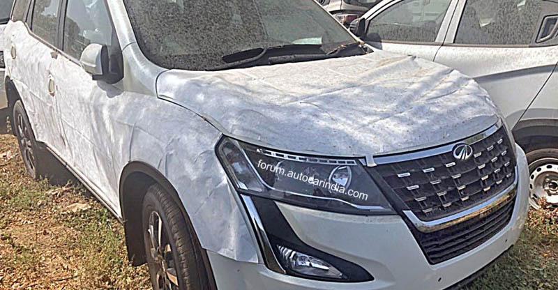 Mahindra XUV500 Facelift के नए फोटोज़ से पता चले और डिटेल्स…