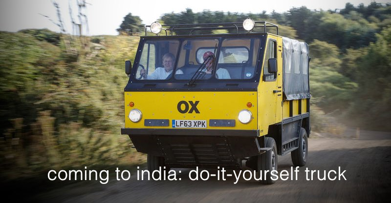 अब आप घर पर असेम्बल कर सकते हैं OX का ये पिक-अप ट्रक; भारत में Shell की पेशकश!