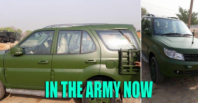 अब Army करेगी Tata Safari Storme का इस्तेमाल, Exclusive फ़ोटोज़…