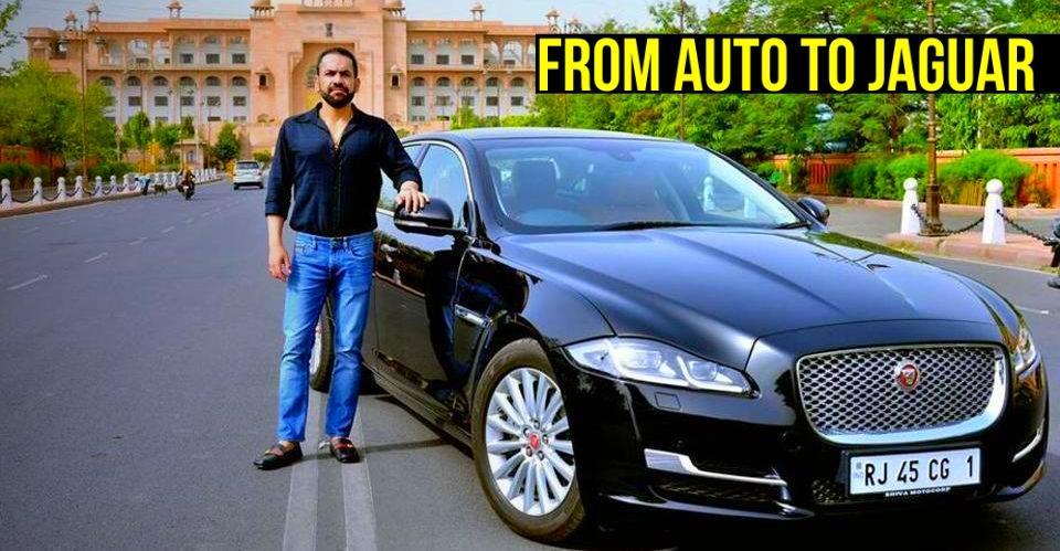 पहले चलाते थे ऑटो-रिक्शा, अब खर्च करते हैं BMW, Jaguar के नम्बर के लिए 40 लाख रूपए