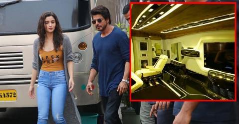 Shahrukh Khan से Alia Bhatt तक; इन स्टार्स की वैनिटी वैन्स कुछ ऐसी दिखती हैं!