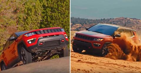Jeep Compass Trailhawk की खासियतें दिखाता है ये ऑफ-रोडिंग विडियो
