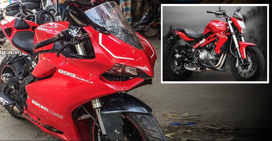 आखिर कैसे ये Benelli TNT 300 एक Ducati Panigale 899 बन जाती है