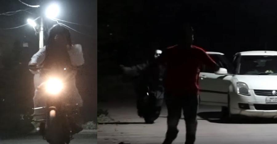 भूत ने चलाई Maruti Suzuki Dzire, Royal Enfields, खतरनाक या मजेदार?