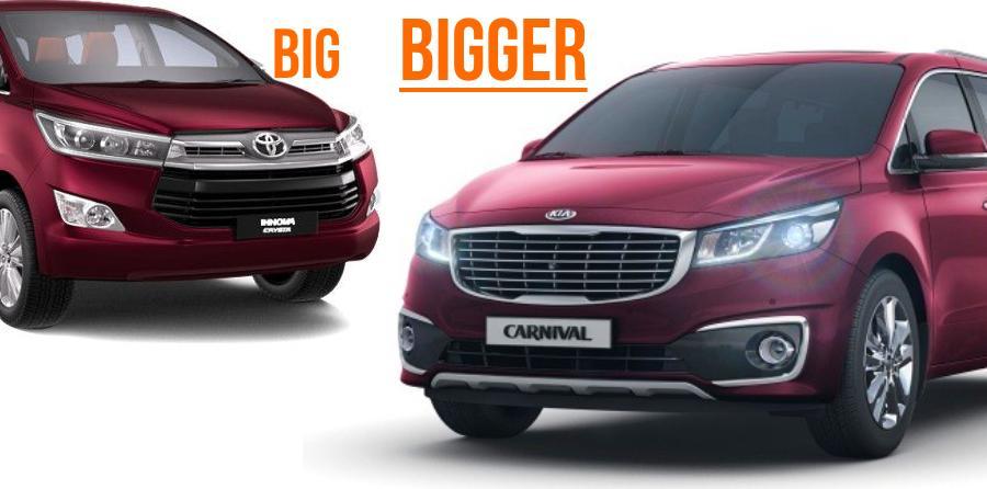 Kia Grand Carnival MPV को इंडिया में देखा गया, Toyota Innova Crysta को मिलेगी कड़ी टक्कर!