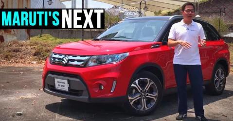 Maruti Suzuki Vitara जल्द आएगी Hyundai Creta को टक्कर देने, पर पहले देखें इसका रीव्यू