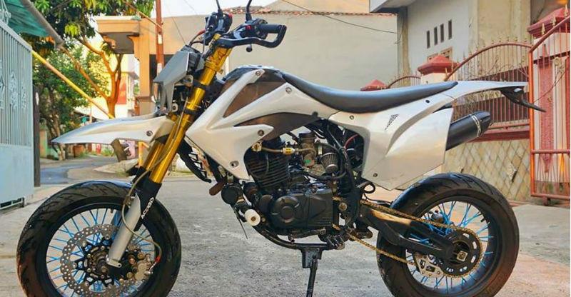 तो Bajaj Pulsar 220 ऐसे बन जाती है एक SuperMoto ऑफ-रोडर बाइक!