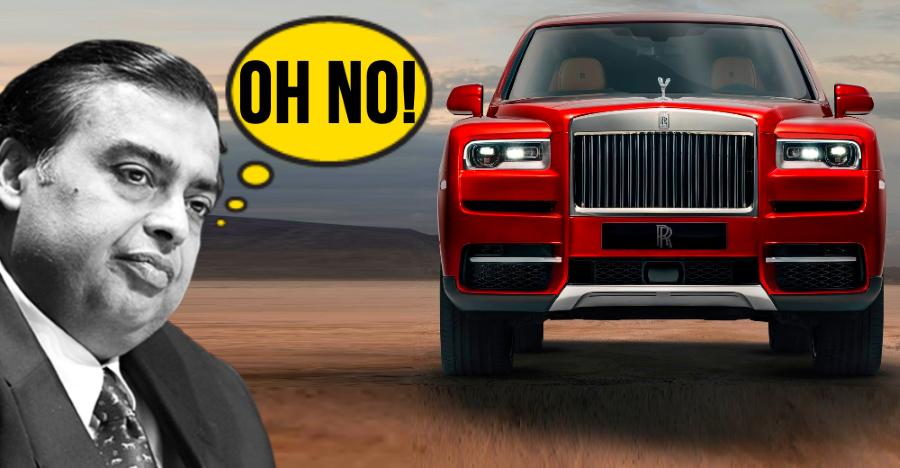 Rolls Royce ने डिस्प्ले की अपनी पहली SUV Cullinan, और ये Bentley Bentayga से बहुत महंगी है!