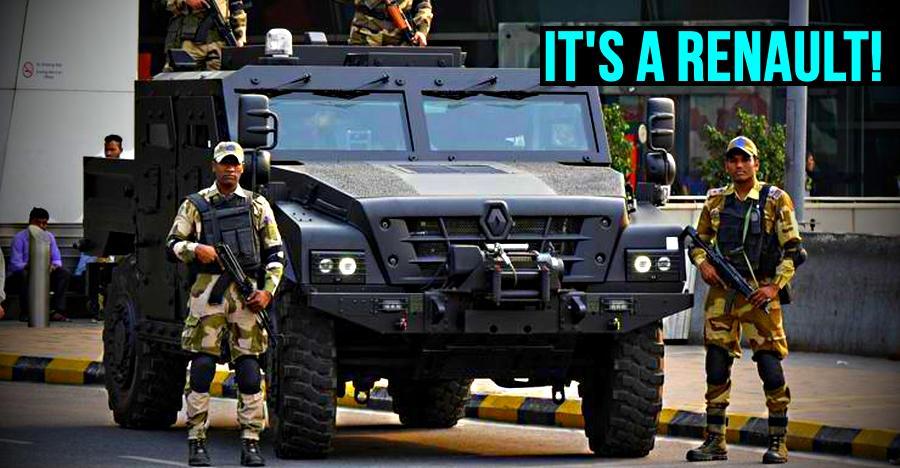 हमारे राज्यों के पुलिस के पास Lamborghini नहीं तो क्या, Sherpa तो है!