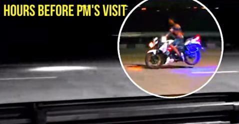 प्रधानमंत्री Narendra Modi के Eastern Peripheral Expressway उदघाटन से पहले बाइकर कर रहे थे रोड पर स्टंट!