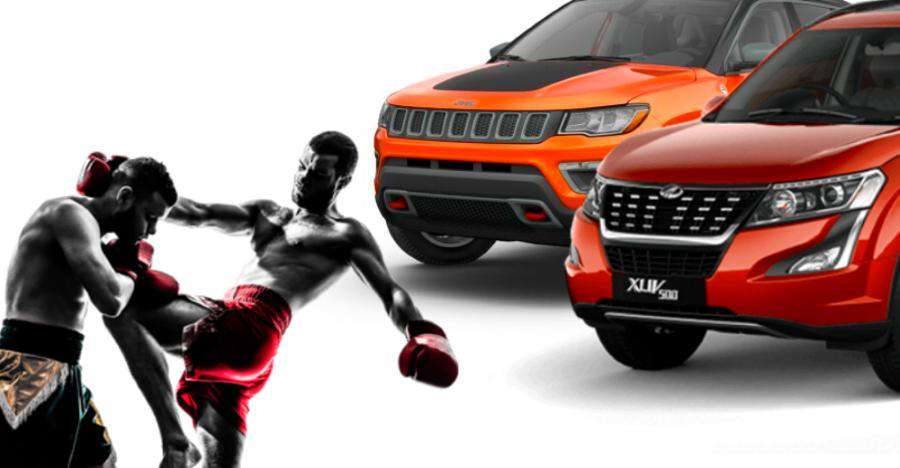 इन कारणों से Mahindra XUV500 ने Jeep Compass को सेल्स में पीछे छोड़ दिया है!