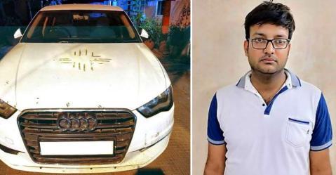 पहले 17.5 लाख रूपए में बेची Audi A4, फिर उसे वापस चुरा भी लिया!