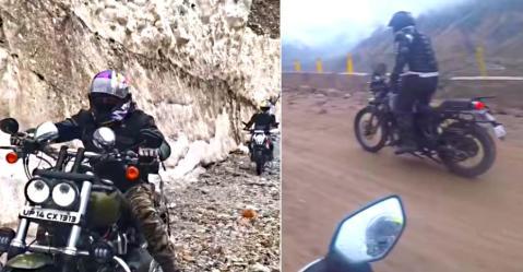 Himalayan, KTM 390, और कुछ Harley Davidsons लेती हैं इंडिया के सबसे खतरनाक रोड से टक्कर