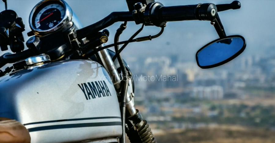 इस मॉडिफाइड Yamaha RX135 में 90 के दशक का दिल धड़कता है