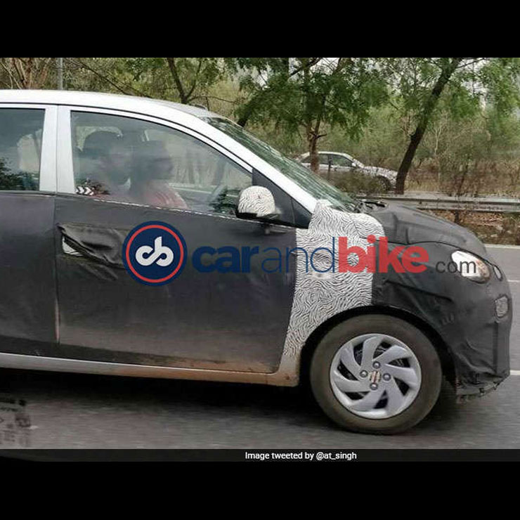 नई New Hyundai Santro : ख़ुफ़िया तसवीरें और लॉन्च टाइमलाइन