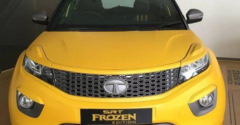 इस Tata Nexon को लाजवाब ढंग से मॉडिफाई किया गया है और नाम है Frozen SRT Edition