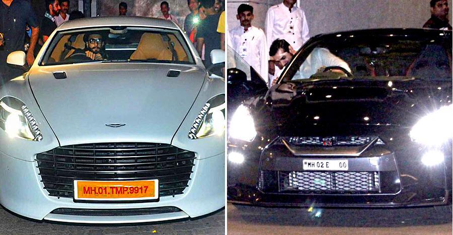 Ranveer Singh की Aston Martin से John Abraham की Nissan GT-R तक; इंडिया के सेलेब्रिटीज़ की स्पोर्ट्सकार्स [Video]
