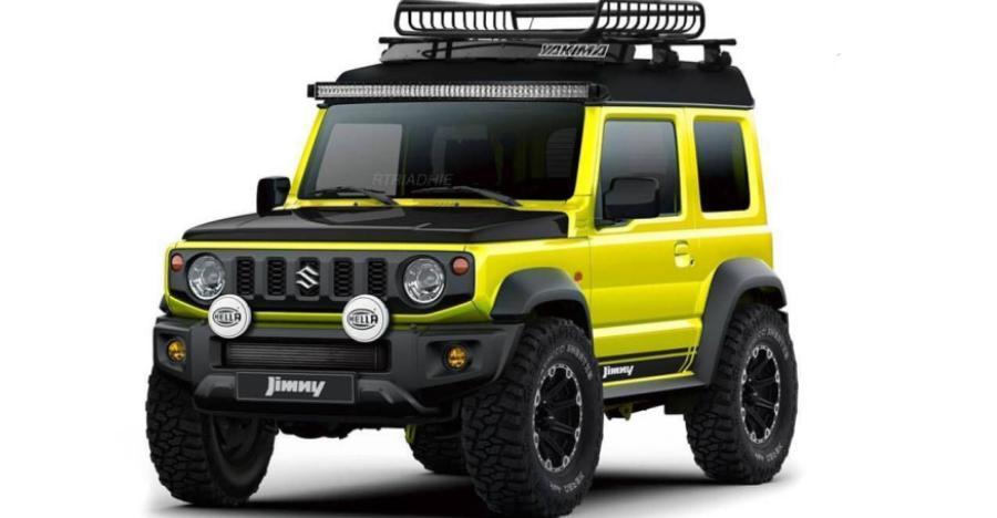 Suzuki 2018 Jimny का एक्सपीडिशन वर्शन का रेंडर आपके होश उड़ा देगा!