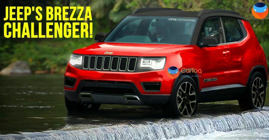 Jeep Compass का ये छोटा मॉडल Brezza की नींद हराम कर सकती है…