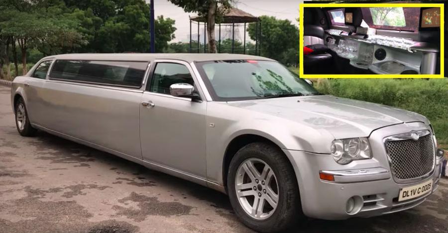 क्या आप इस आलिशान Chrysler limousine को एक दिन के लिए अपनाना चाहेंगे: जानने के लिए देखिए वीडियो