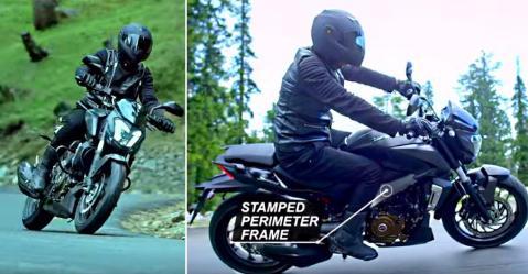Bajaj Dominar 400 का नया विज्ञापन इस बार Royal Enfield से कोई तुलना नहीं करता