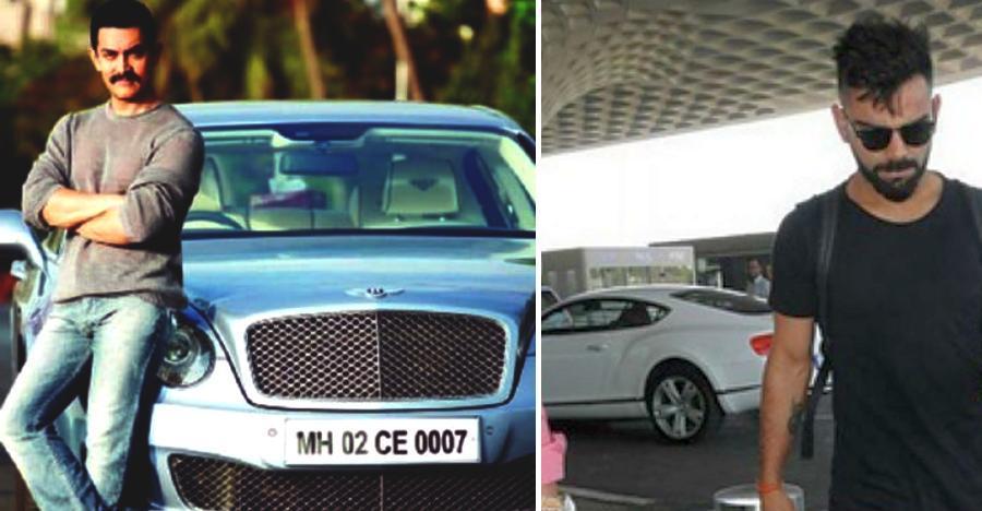 Virat Kohli से Aamir Khan तक: भारत के रईसों की निहायती महंगी Bentleys